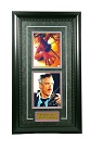 Spiderman Dual Autographed Tobey McGuire & J.K. Simmons Autographed 8x10 Framed