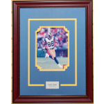 Torry Holt Autographed 8x10 Framed