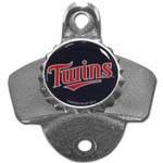 Minnesota Twins Wall Bottle Opener