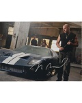 Vin Diesel Autographed 8x10 in Fast Five
