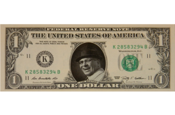 Vince Lombardi Famous Face Dollar Bill - The Master