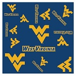 W. Virginia Mountaineers Silky Scarf
